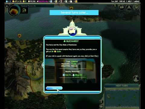 Civilization 5 - 25 Turn Diplomatic Victory