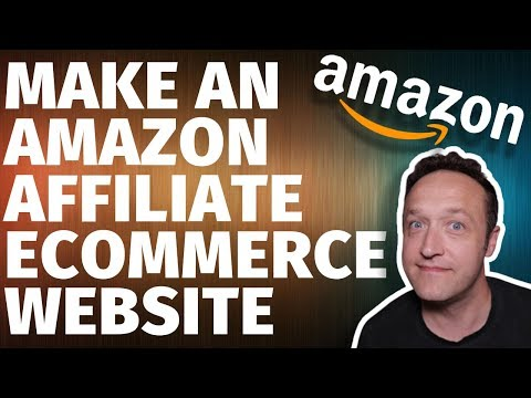 How to MAKE AN AMAZON AFFILIATE ECOMMERCE STORE Website with WordPress Woozone & Woocommerce thumbnail