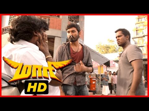 Maari Tamil Movie |Full fight | Dhanush | Vijay Yesudas | Mime Gopi| Kaali Venkat