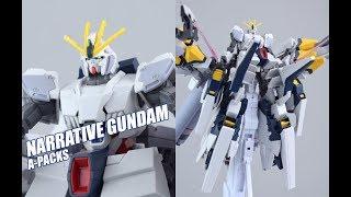 【评头论足】捕鸟专用小马甲!万代 Hguc Nt高达 A装备 高达模型介绍gundam Gunpla Review