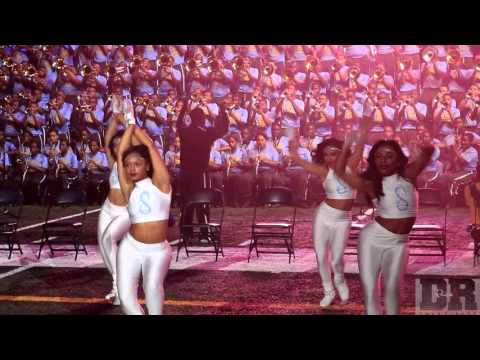 "Southern University Marching Band & Dancing Dolls ""I'm Sprung"" (2015)"