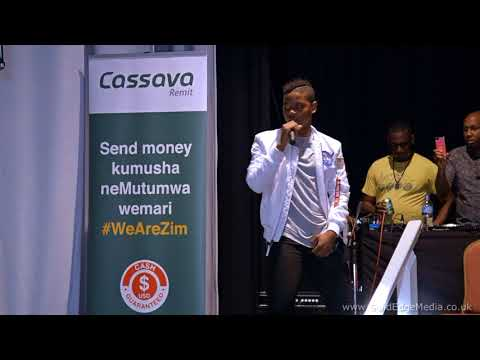 Donel Mangena performs at the Heritage Zimbabwe Culture Show 2018