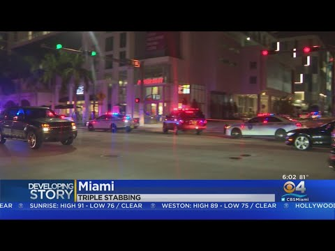 Dispute Led To Triple Stabbing At Miami Hotel