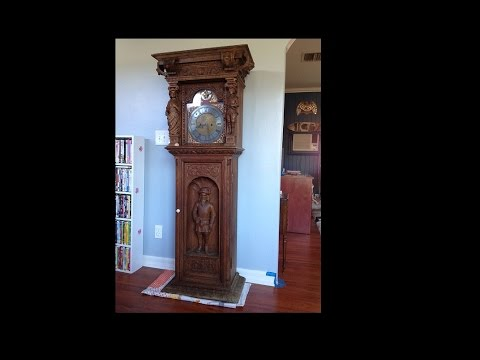 Late 18th century Grandfather Clock Randomly Show Up On My Door Step... - YouTube & Late 18th century Grandfather Clock Randomly Show Up On My Door Step ...