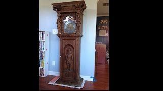 Late 18th Century Grandfather Clock Randomly Show Up On My Door Step...