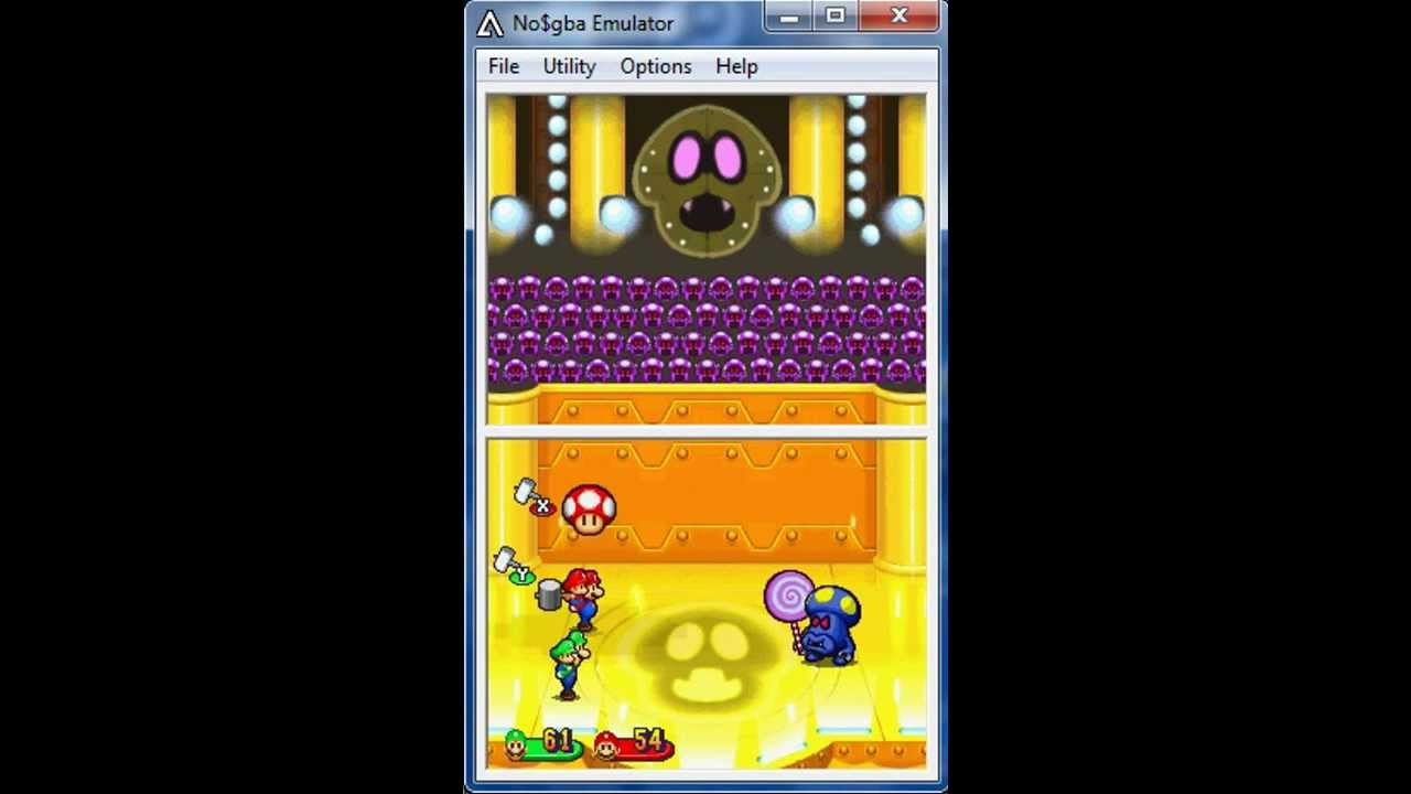 Mario And Luigi Partners In Time Boss Fight Shrooboid Brat