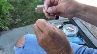 Simple but effective Fluorocarbon Knot | Jason Christie