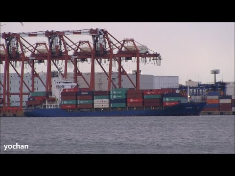 Container Ship: SARA (Owner: Harmstorf & Meier Hedde Reederei. IMO: 9322243) Arrival in Port