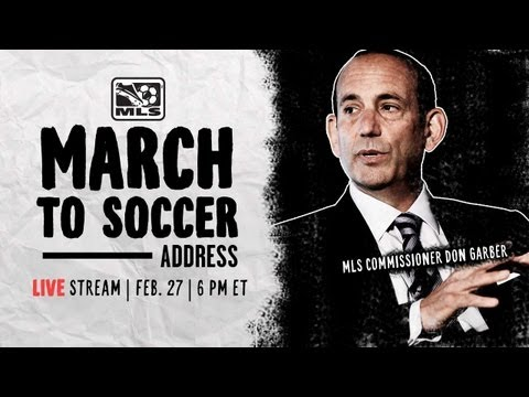 MLS March to Soccer Address | Live Conference with Commissio