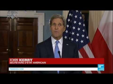 """John Kerry en français : """"Aucun pays ne sait mieux que la France que la liberté a un prix"""""""