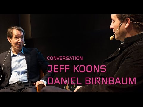 Jeff Koons & Daniel Birnbaum, Moderna Museet