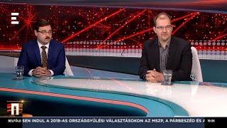 Van-e Magyarországon sajtószabadság? -  Polyák Gábor, Szánthó Miklós - ECHO TV