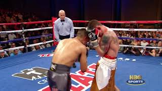 HBO Boxing  Miguel Garcia vs  Matt Remillard Highlights HBO