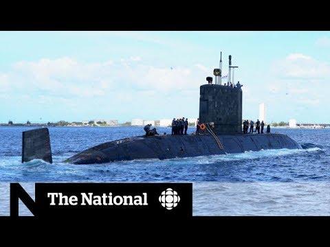 Inside a top secret Canadian submarine