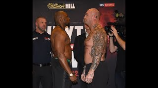 Dillian Whyte vs Lucas Browne plus full undercard weigh in