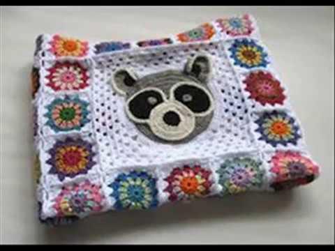 Easy Crochet Baby Blanket Tutorial Models