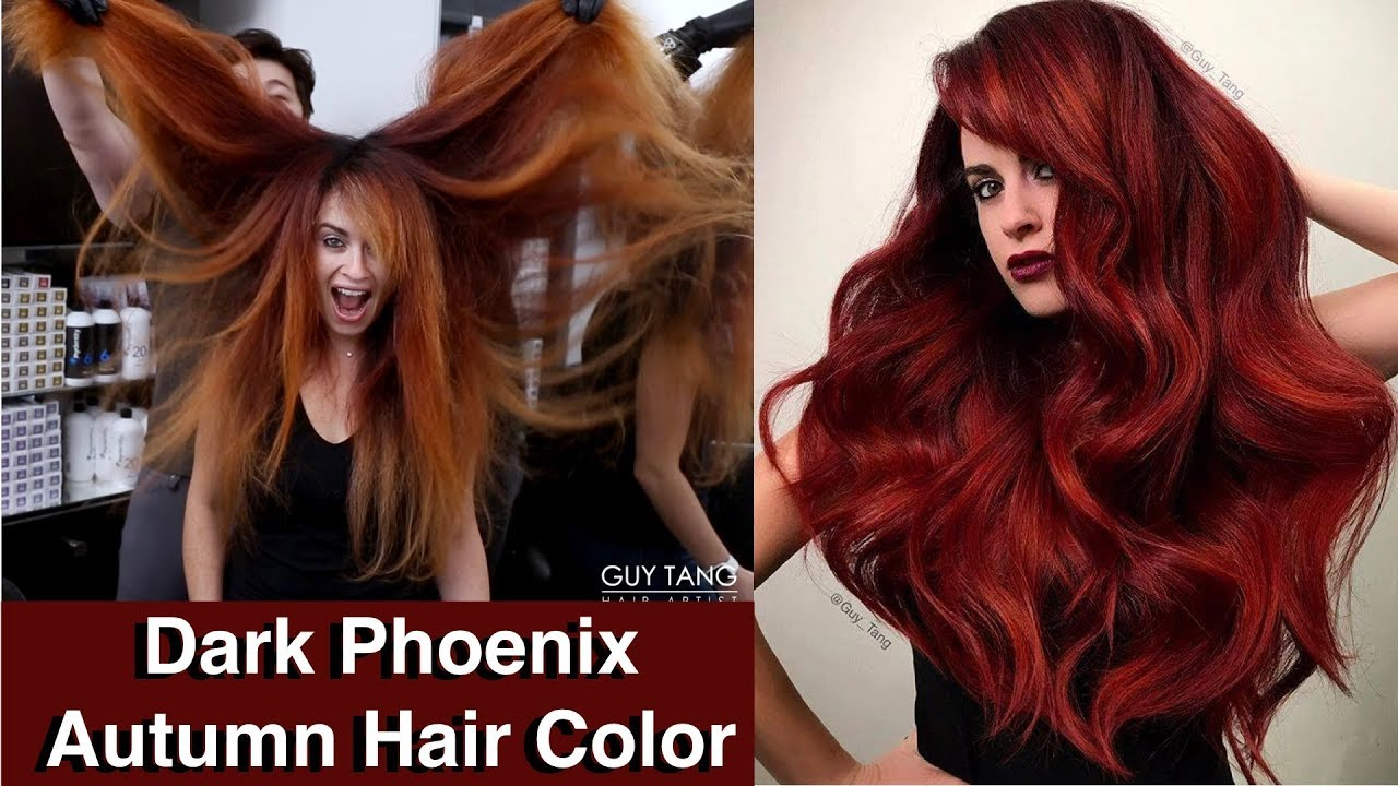 Autumn Fall Hair Colors Ideas And Trends Dark Ash Brown