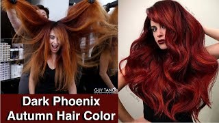 Dark Phoenix Autumn Hair Color