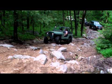 Jeep Cherokee and CJ7  at Rausch Creek