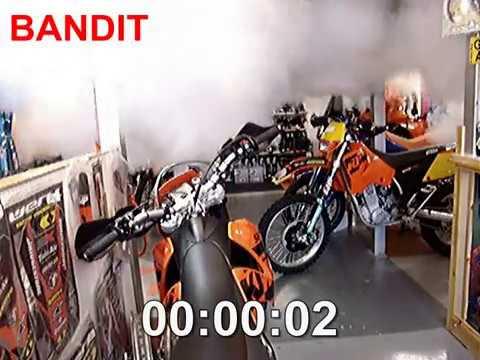 BANDIT Générateur de brouillard Showroom Moto