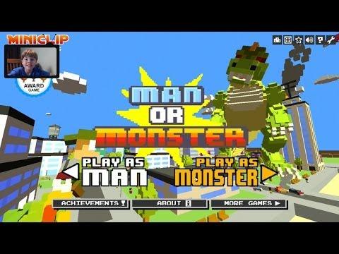Прохождение игры Man or Monster Миссия 10: Токио