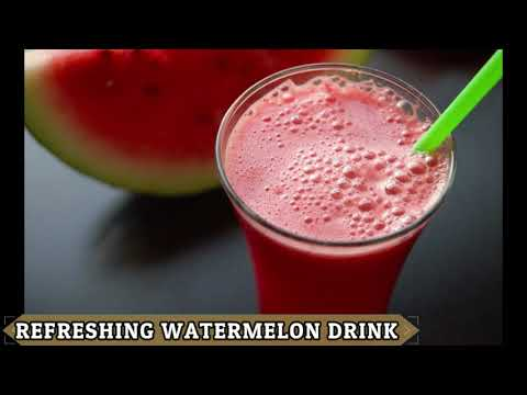 refreshing-watermelon-drink-in-2-mins-iftar-special-by-(yes-i-can-cook)-#2019ramadan-#iftardrink