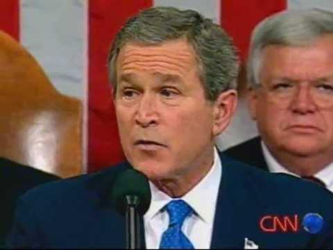 George W Bush - It began in Africa (Music by BUD)