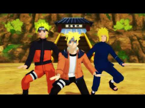 Boruto, Naruto And Minato Funny Dance - I got it from my Daddy