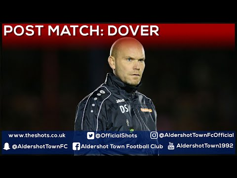 Danny Searle Post-Match: Dover Athletic (H)