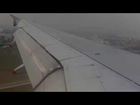 British Airways Airbus A319-131 landing at Marseille Airport 05/10/2014