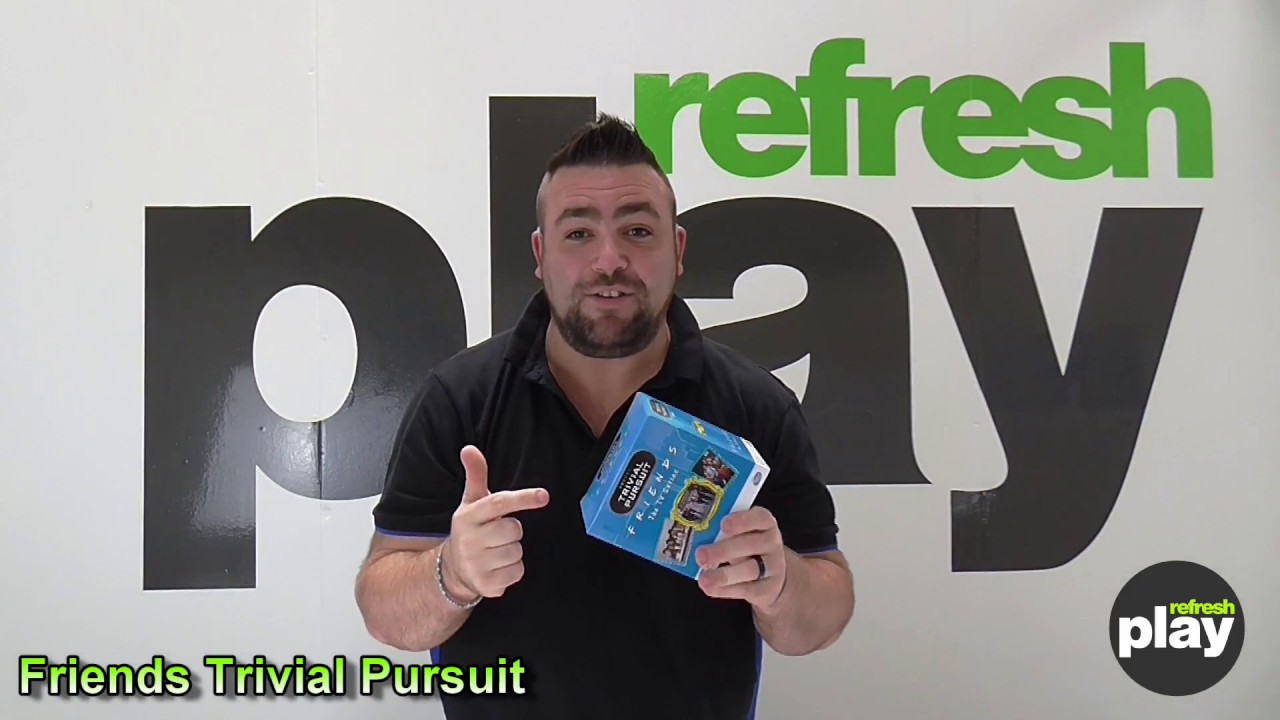 """/""""New/"""" Friends Trivial Pursuit Quiz Game"""