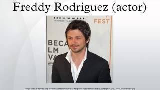 Freddy Rodriguez (actor)