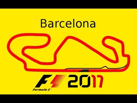 F1 2017 Rd 5 - Barcelona (Track Map)