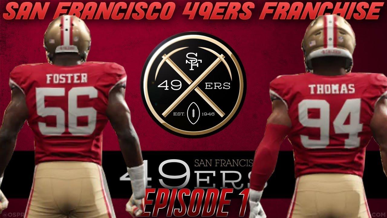 San Francisco 49ers Franchise Start!  554952907