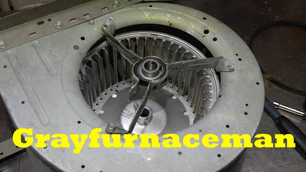 hight resolution of how to replace a blower bearing