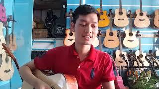 Đàn Guitar FS4 và FS45. Gỗ Hồng Đào. Cần đàn KHÔNG GHÉP. Giá 1900k-2000k