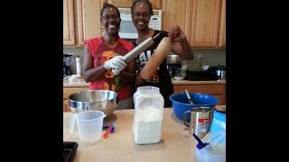 How to Make Big Mama's Tea Cakes | Sisters Rene' Michelle Floyd & Chelsea Williams