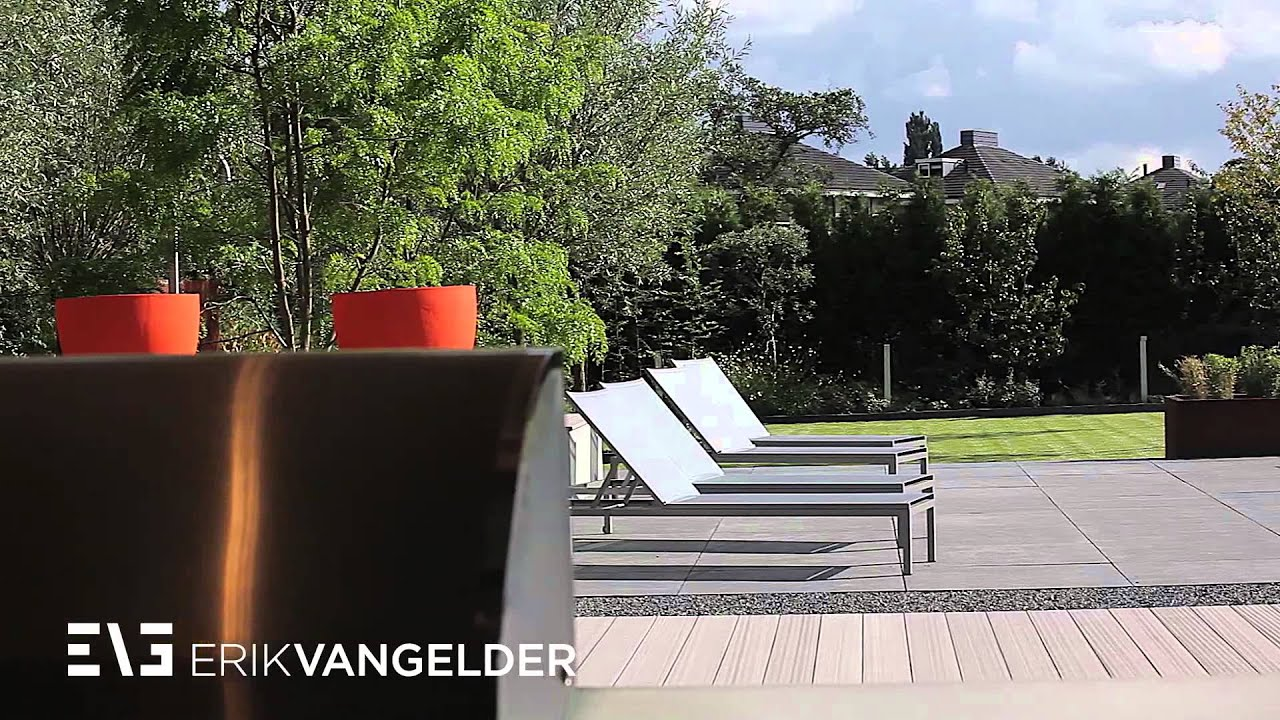 Dutch modern garden design erik van gelder tuinarchitect