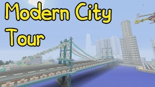 Los Yorkus! - Minecraft Modern City Tour (1)