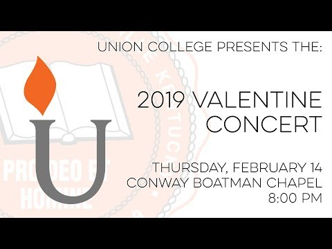 Union College Valentine Concert - February 14, 2019