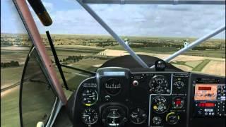 FSX - OctopusG PZL-104 Wilga 35 landing at LHBY