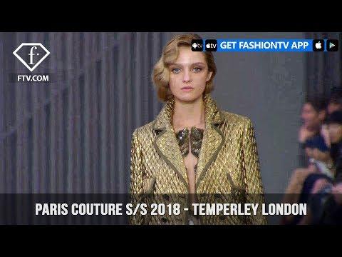 London Fashion Week  Fall/Winter 18-19 - Temperley London | FashionTV | FTV