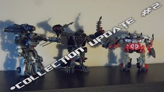 Transformers Collection Update #2 Studio Series Crowbar with Soundwave and Leadfoot