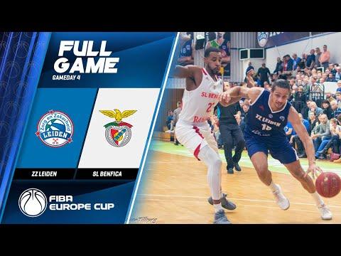 ZZ Leiden V SL Benfica - Full Game - FIBA Europe Cup 2019-20