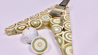 I Built a Guitar Out of 8 Mega Jawbreaker Candies