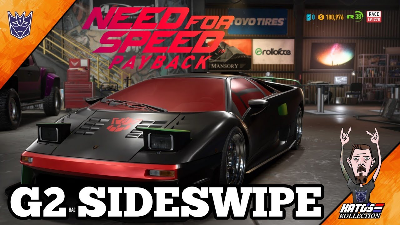G2 Sideswipe made in Need for Speed PAYBACK by Kato's Kollection