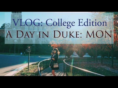 Vlog: 美國大學日常 ♥ 星期一:心理學實驗、戲服工作室、與教授吃飯 A Day In Duke