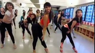 'One more night' by Brenda Liew in  Taipei - Bachata ladies shines class