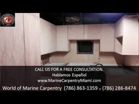 World Of Marine Carpentry - Teak Decking in Miami