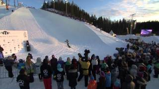 Christian Haller - Final run at the Arctic Challenge Halfpipe 2013